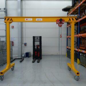 Steel gantry crane