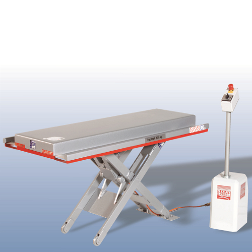 Low profile lift tables - full platform special edition
