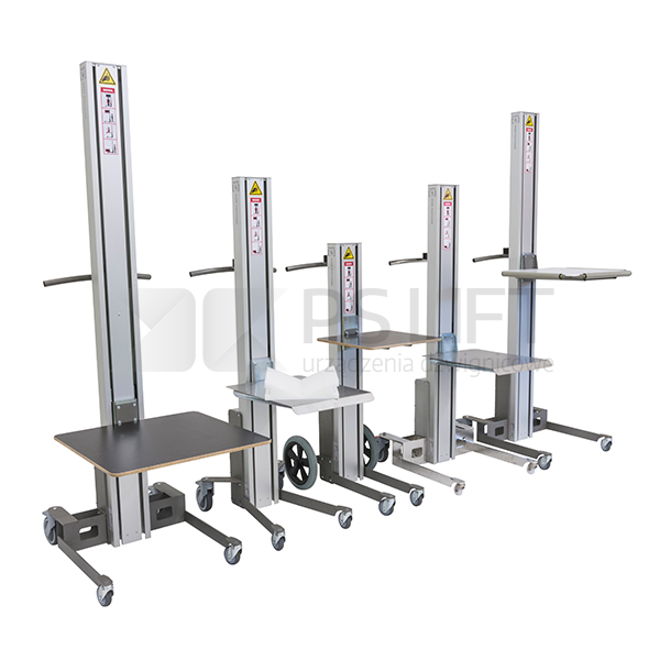 Work positioner WP Commander series (capacity up to 90 kg)