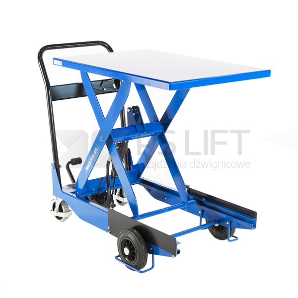Scissor lift table trolley – CZ series (with hydraulic pump)