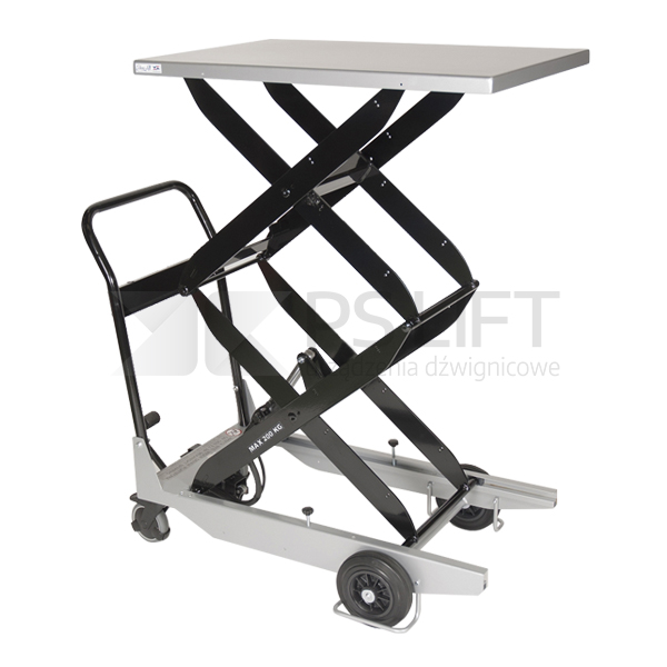 Scissor lift table trolley – TZ series (with foot pump)