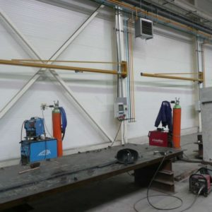 Slewing pillar jib crane Probus