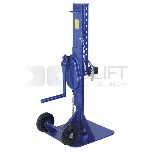 Body lifting jack for vehicle repair