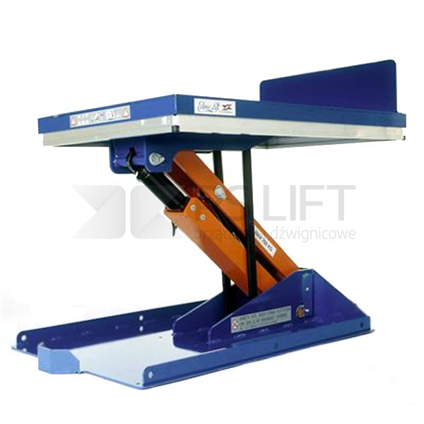 Lift tables - Armlift with tilt