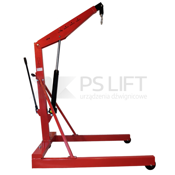 Euro shop crane PS-SA series (for Euro pallets)
