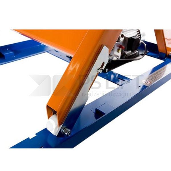 Single scissors with capacity 3000 kg