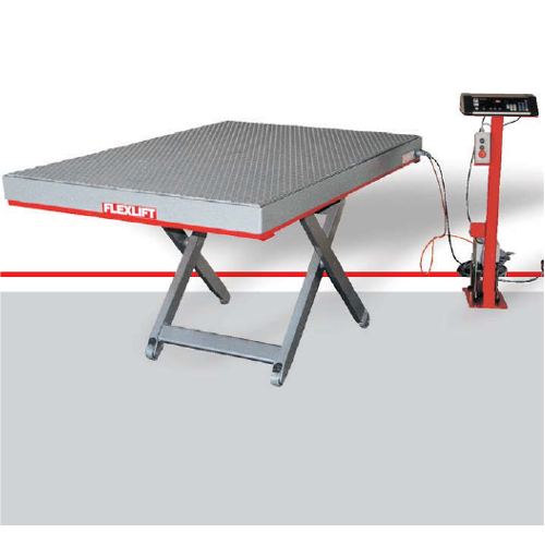 Low profile lift tables - full platform