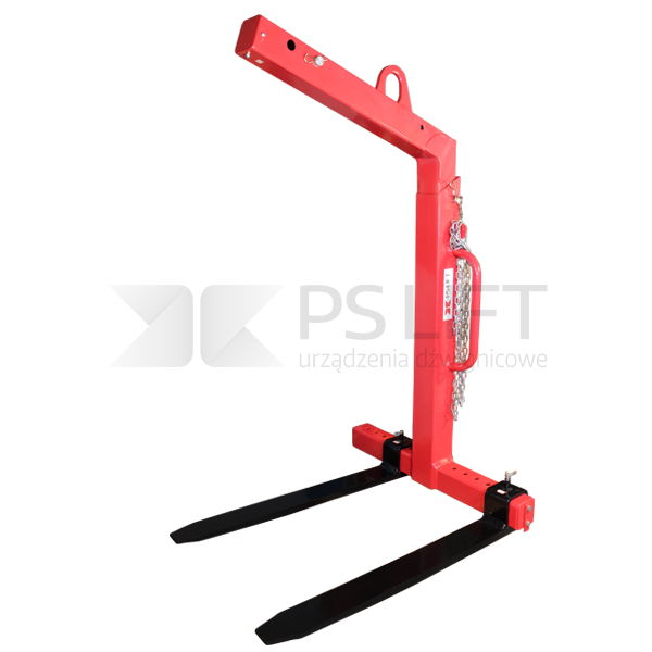 Self-levelling crane fork PS-CY