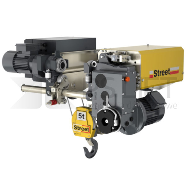 Electric rope hoists Street ZX series (capacity up to 50 tonnes)