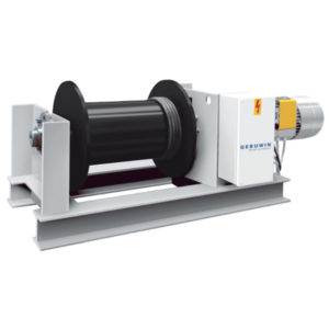 Electric planetary winch Gebuwin EP series