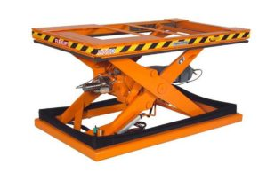 PS Lift, Lifting equipment, Belt lift table, Platform, 1