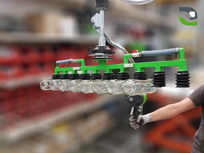 Vacuum manipulators in alcohol sector