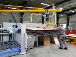 PS lift, Lifting equipment, vacuum, wood, paper, manipulators, manutlm, 2