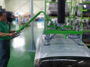 PS lift, Lifting equipment, vacuum, industry, manipulators, manutlm, 6