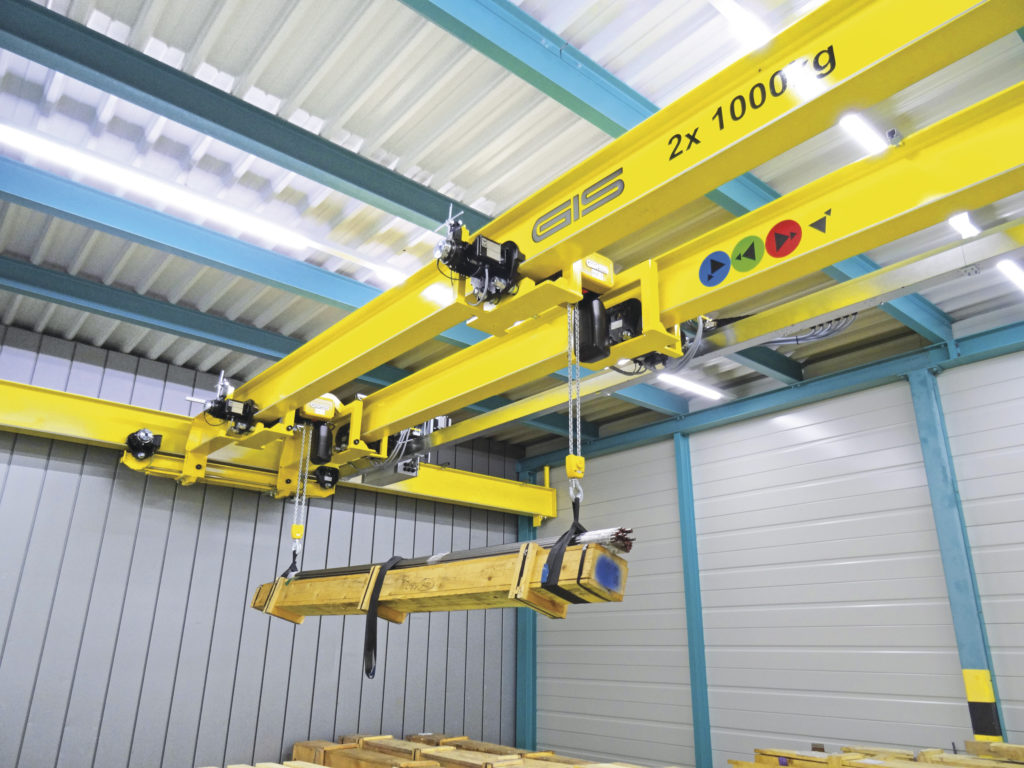 Characteristics of GIS GPM and GP electric chain hoists