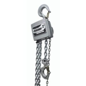 Aluminum manual chain hoist HADEF