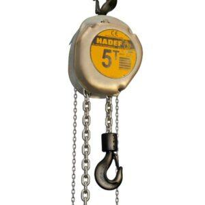 Manual chain hoist HADEF – high load capacity