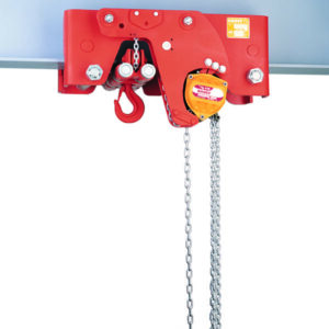 Manual chain hoist HADEF low headroom